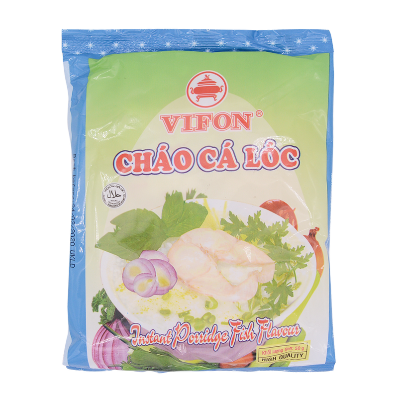 Vifon Instant Porridge Fish Flavour 50g - Longdan Offical Online Store - UK Cash & Carry