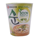 Nong Shim Soon Veggie Cup 67g 12PC - Longdan Offical Online Store - UK Cash & Carry