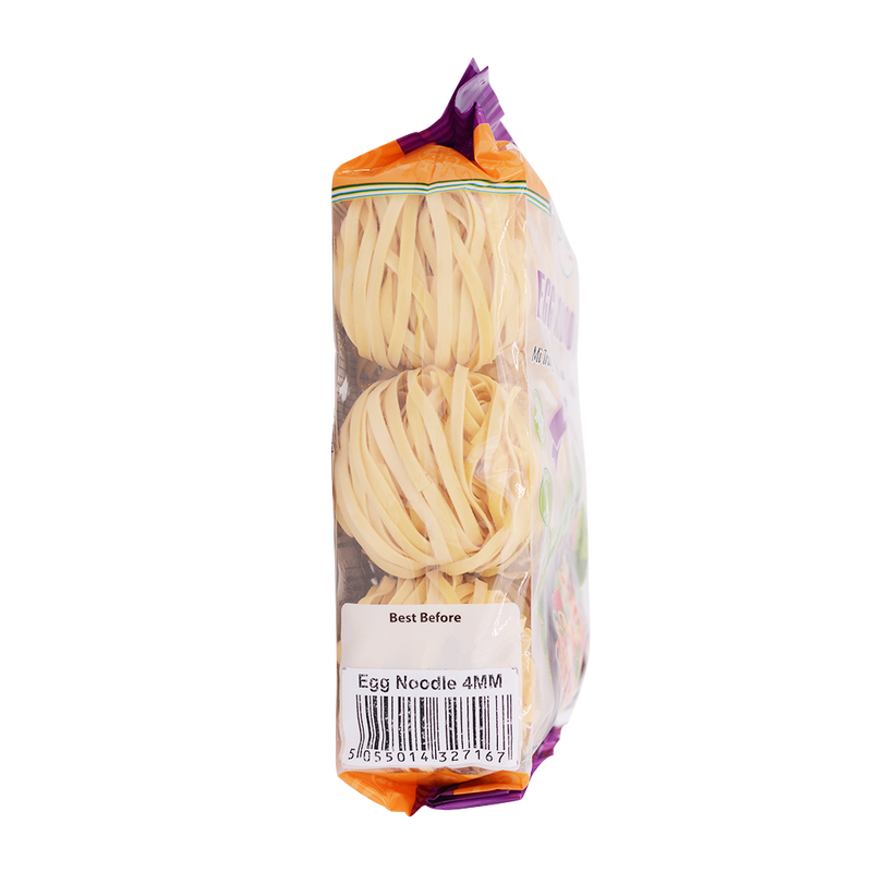Longdan Egg Noodles 4mm 400g - Longdan Offical Online Store - UK Cash & Carry
