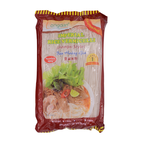 Longdan Imperial Rice Vermicelli 1.6mm 400g - Longdan Offical Online Store - UK Cash & Carry