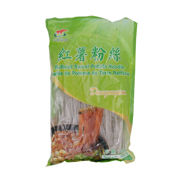 Mengde Sweet Potato Vermicelli(flat) 400g - Longdan Offical Online Store - UK Cash & Carry