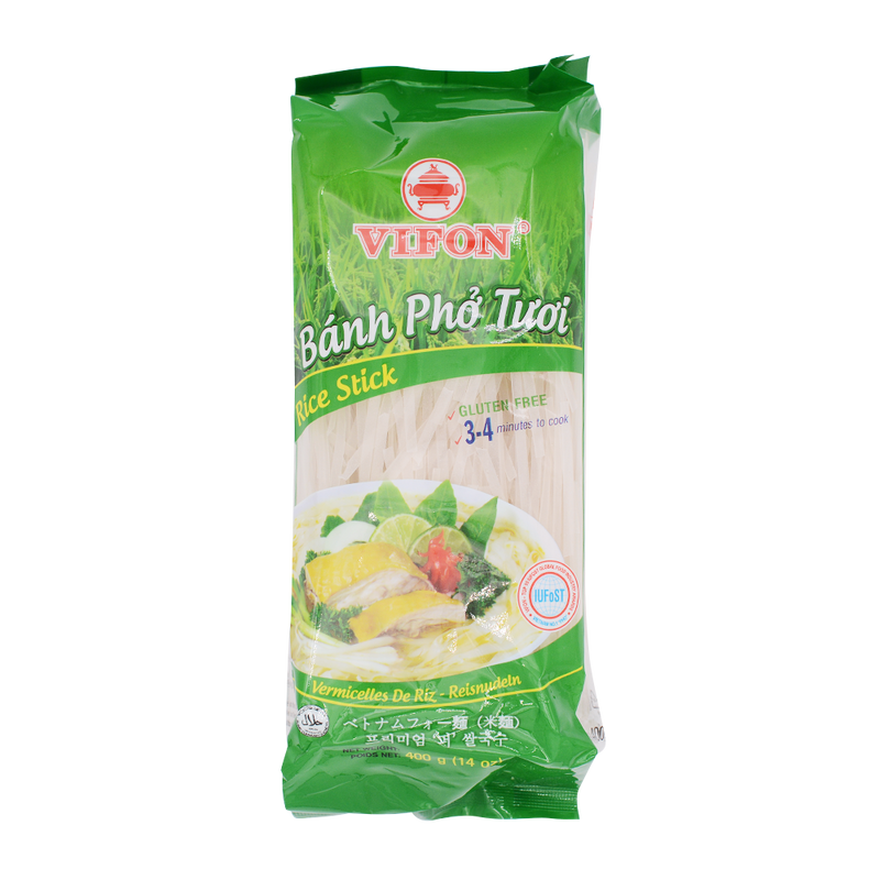 Vifon Rice Noodle Gluten Free 400g - Longdan Offical Online Store - UK Cash & Carry