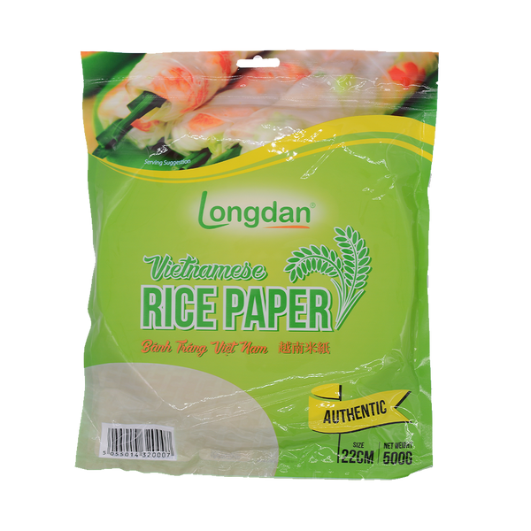 Longdan Rice Paper( Authentic) 22cm 500g - Longdan Online Supermarket