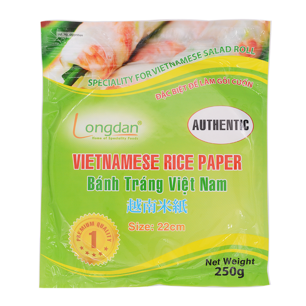 Longdan Rice Paper (Authentic) 22cm 250g - Longdan Online Supermarket
