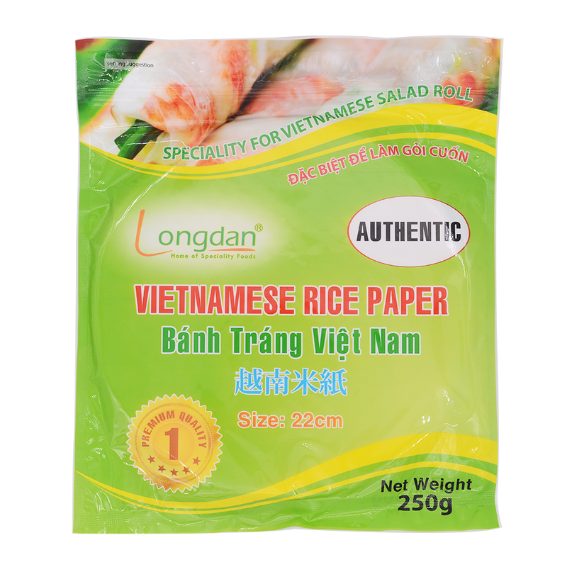 Longdan Rice Paper (Authentic) 22cm 250g - Longdan Offical Online Store - UK Cash & Carry