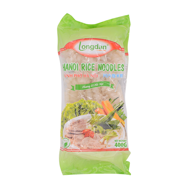 Longdan Hanoi Rice Noodles Roll 400g - Longdan Offical Online Store - UK Cash & Carry