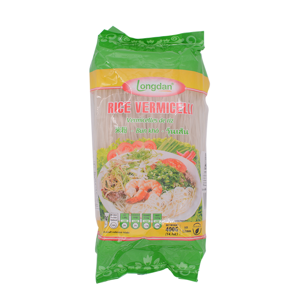 Longdan Rice Vermicelli 1.2mm 400g - Longdan Offical Online Store - UK Cash & Carry