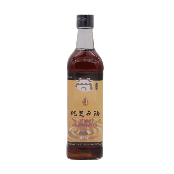 Shaohsing Castel Sesame Oil Pure 500ml - Longdan Offical Online Store - UK Cash & Carry