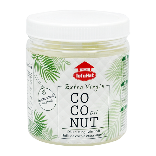 Tofuhat Extra Virgin Coconut Oil 500Ml - Longdan Online Supermarket