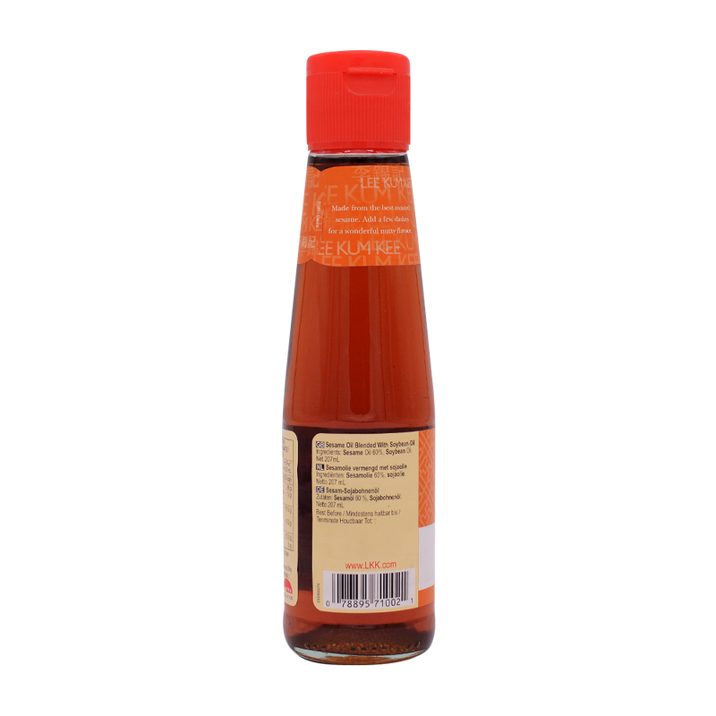 Lee Kum Kees Sesame Soybean Oil Blend 207ml - Longdan Offical Online Store - UK Cash & Carry