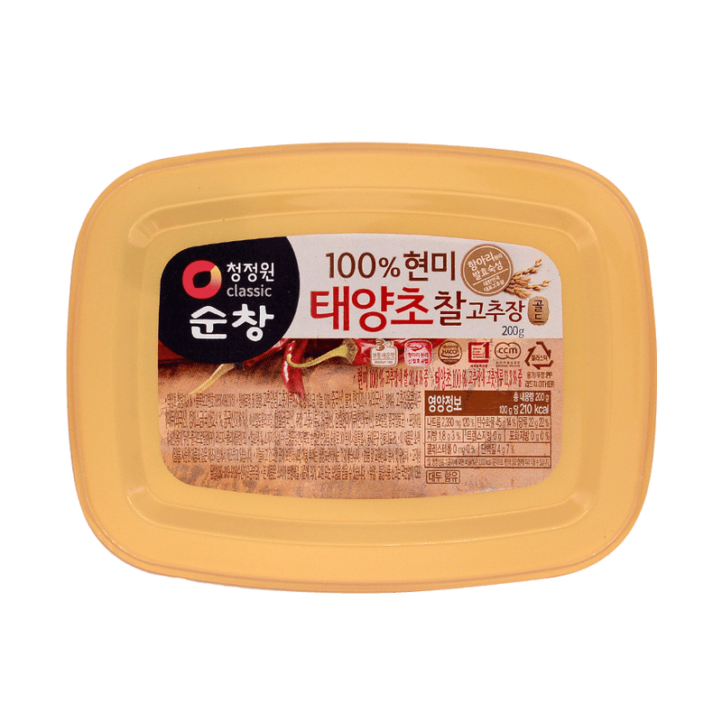 Daesang CJO Brown Rice Red Pepper Paste 200G - Longdan Online Supermarket