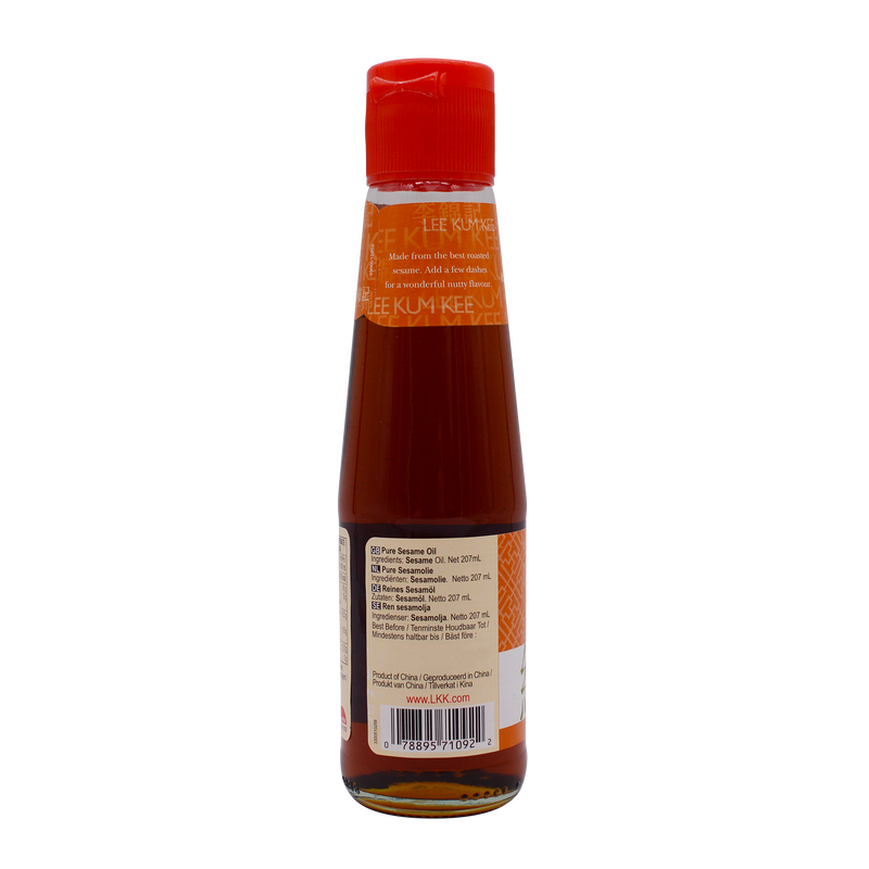 Lee Kum Kees Sesame Oil Pure 207ml - Longdan Online Supermarket