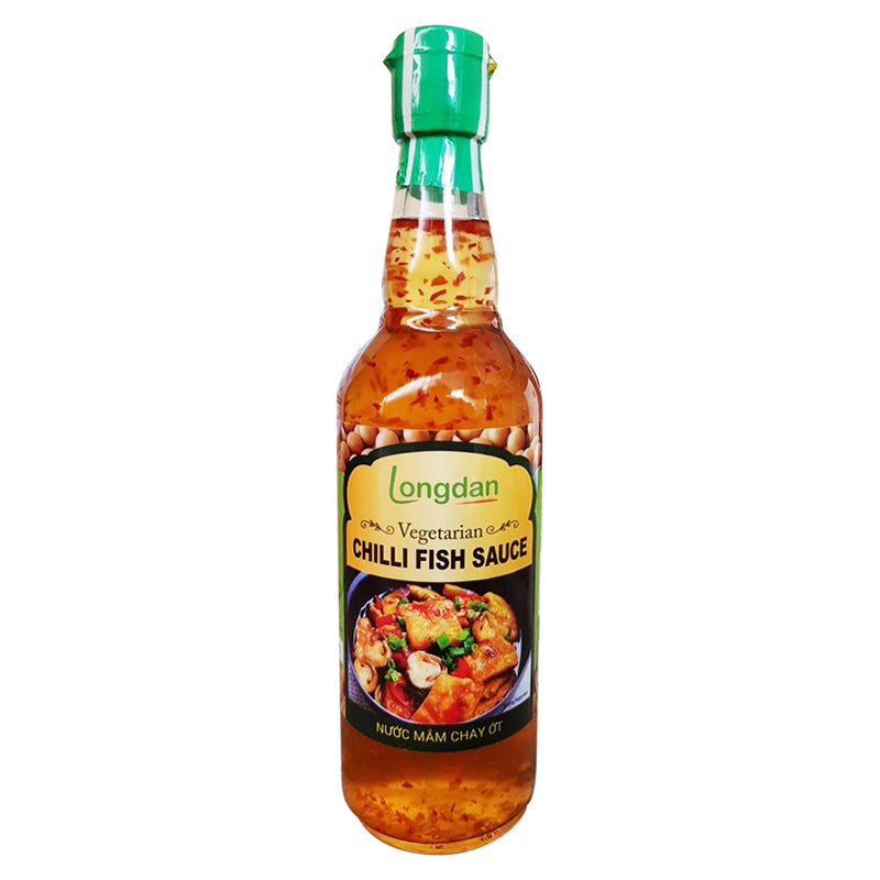 Longdan Vegetarian Chilli Fish Sauce 500ml - Longdan Official Online Store