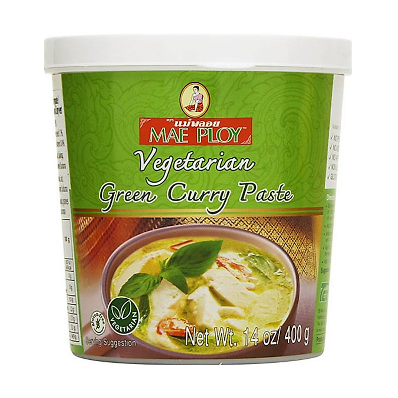 Mae Ploy Vegetarian Green Curry Paste 400g - Longdan Online Supermarket