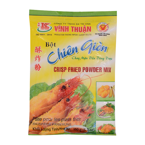Vinh Thuan Crispy Fried Powder Mix 150g - Longdan Online Supermarket
