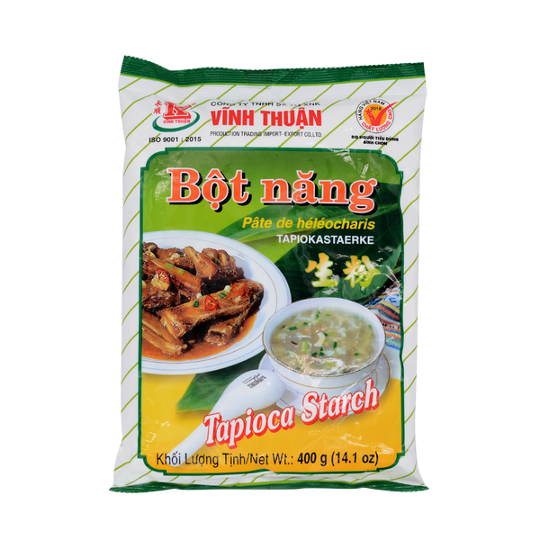 Vinh Thuan Tapioca Starch (Bot Nang) 400g - Longdan Offical Online Store - UK Cash & Carry