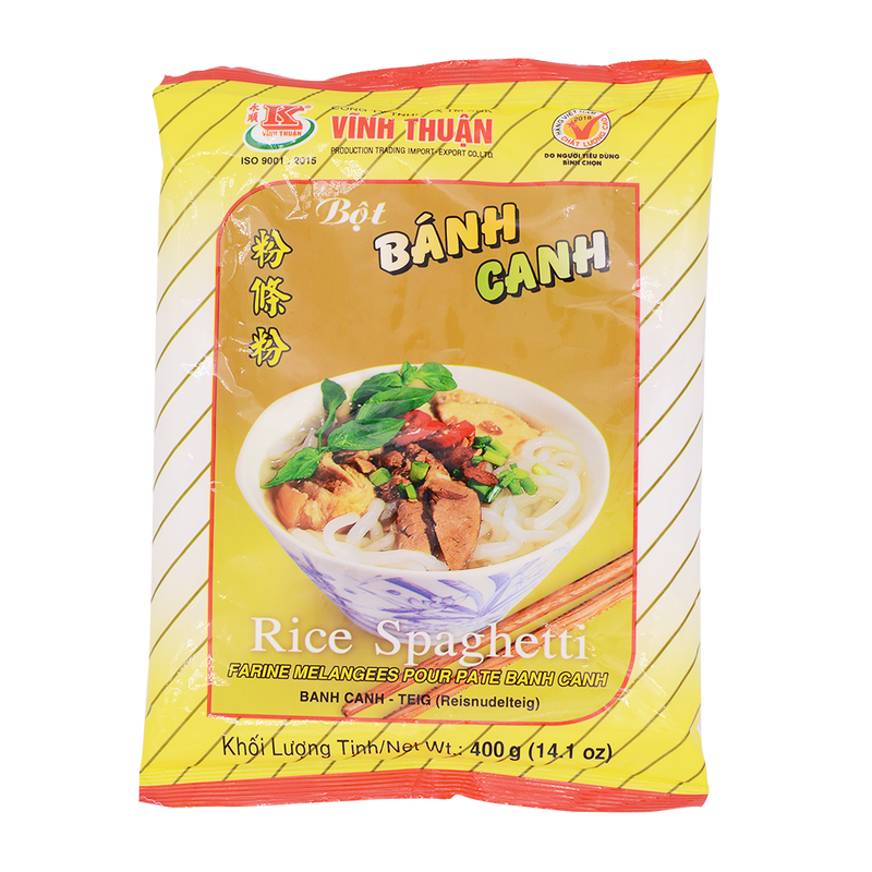 Vinh Thuan Rice Spaghetti (Banh Canh) 400g - Longdan Offical Online Store - UK Cash & Carry
