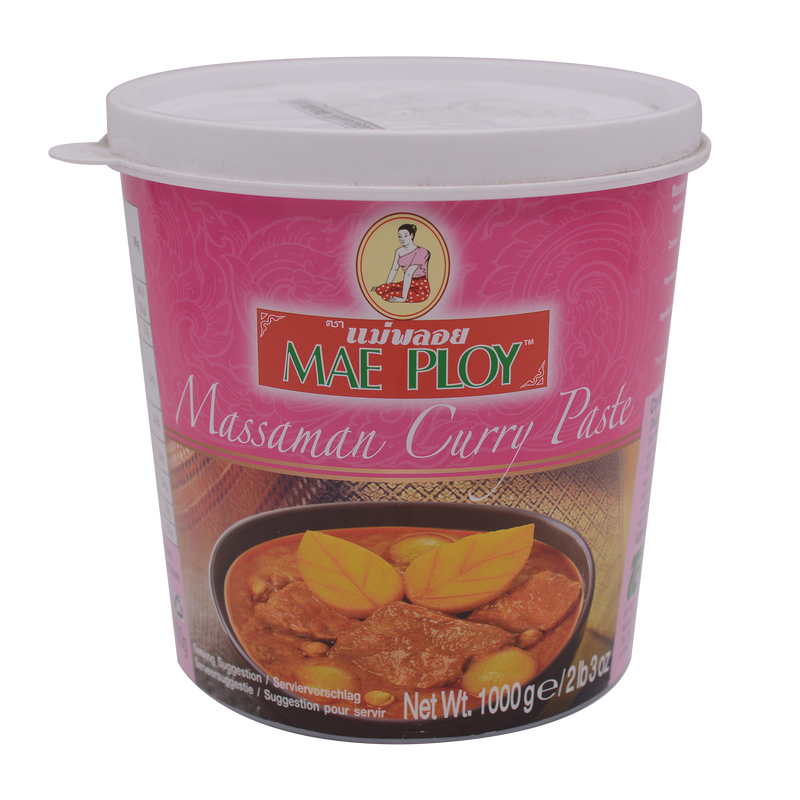Mae Ploy Masman Curry Paste 1Kg - Longdan Online Supermarket