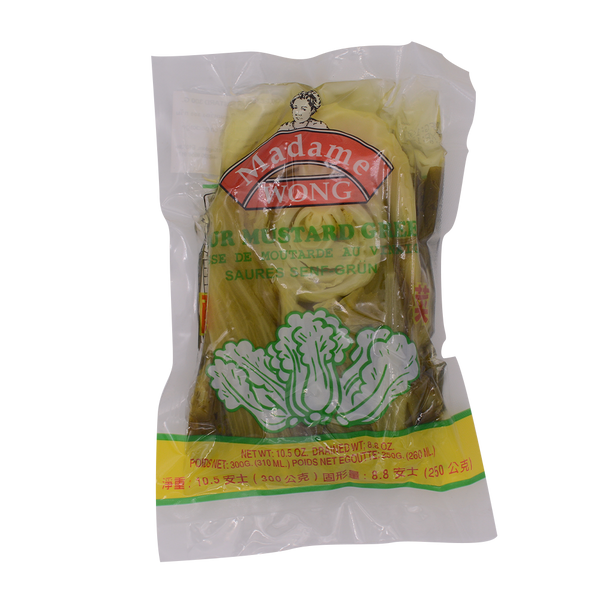 Madame Wong Sour Mustard 300g - Longdan Offical Online Store - UK Cash & Carry