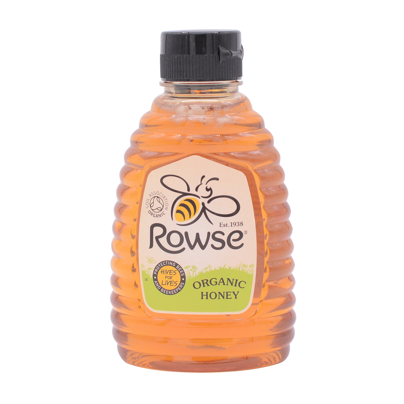 Rowse Squeezy Clear Organic Honey 340g - Longdan Online Supermarket