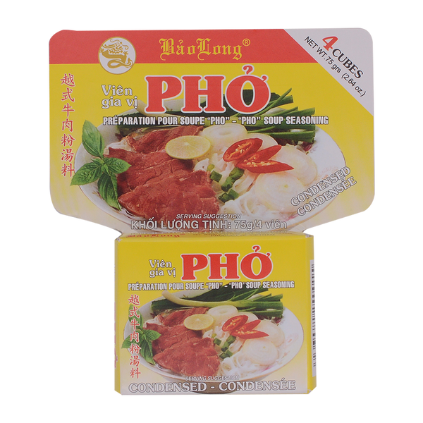 Bao Long Pho Bo Seasoning 75g - Longdan Online Supermarket
