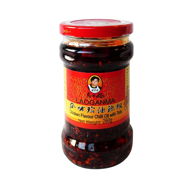 Lao Gan Ma Chilli Chicken Flavour Hot 280g - Longdan Official Online Store