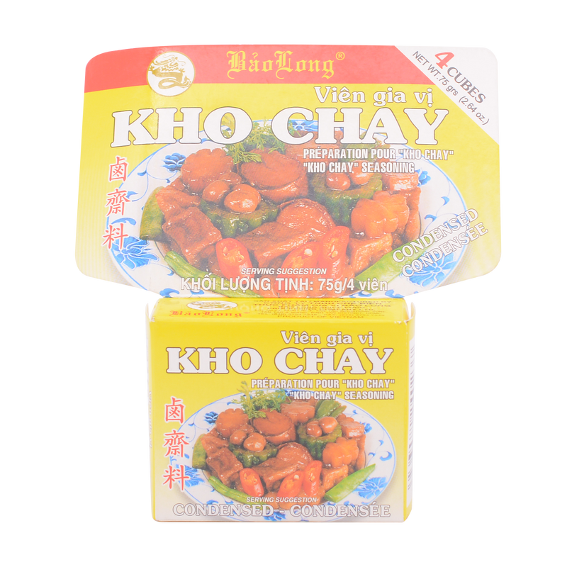 Bao Long Kho Chay Seasoning 75g - Longdan Online Supermarket