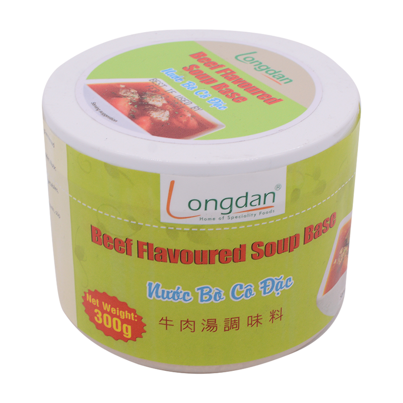 Longdan Beef Flavoured Soup Base 300g - Longdan Offical Online Store - UK Cash & Carry