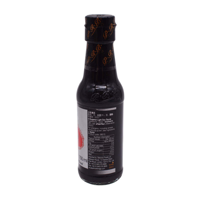 Pearl River Bridge Superior Light Soy Sauce 150ml - Longdan Online Supermarket