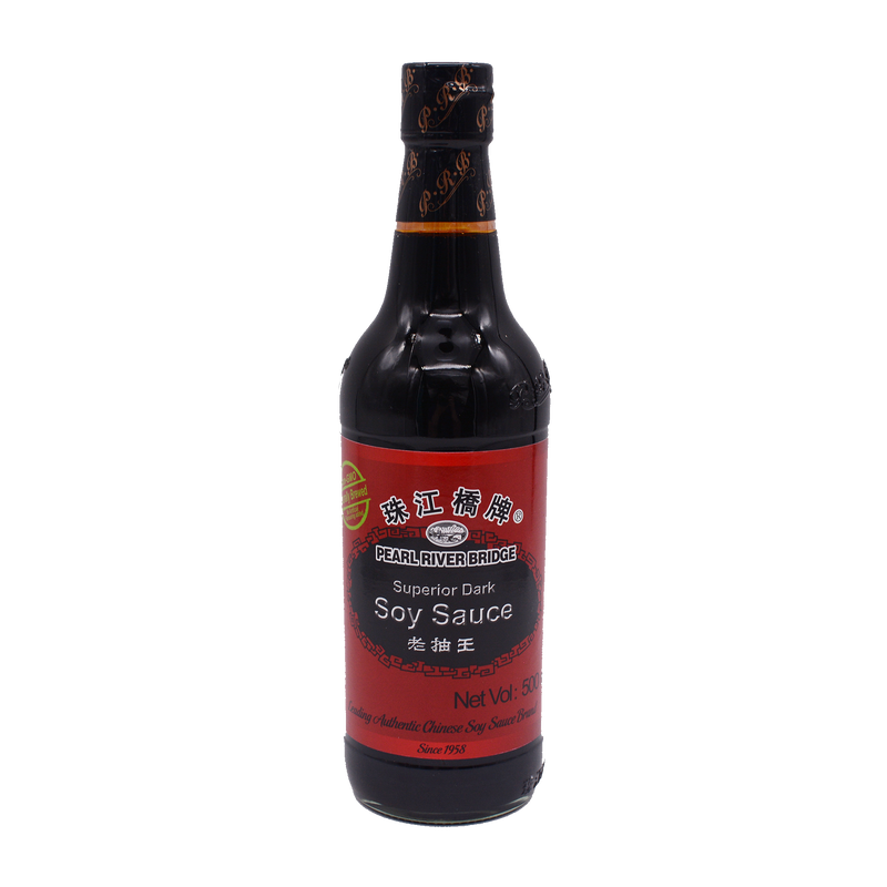 Pearl River Bridge Superior Dark Soy Sauce 500ml - Longdan Online Supermarket