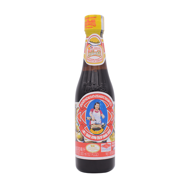Maekrua Oyster Sauce 300Ml - Longdan Offical Online Store - UK Cash & Carry