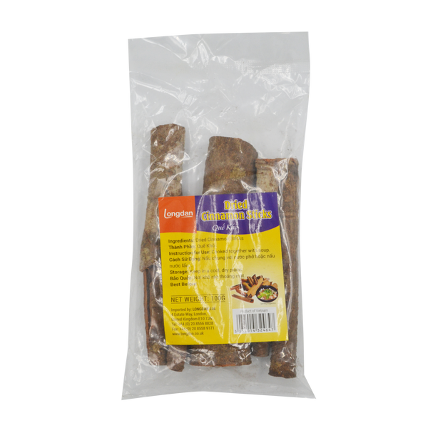 Longdan Dried Cinnamon Sticks 100g
