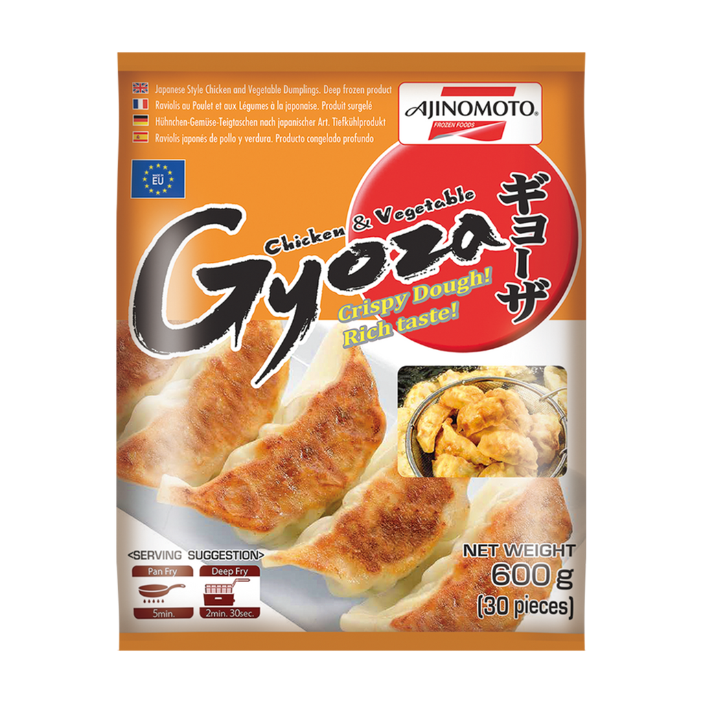 AJINOMOTO Chicken & Vegetable Gyoza 600g - Longdan Online Supermarket