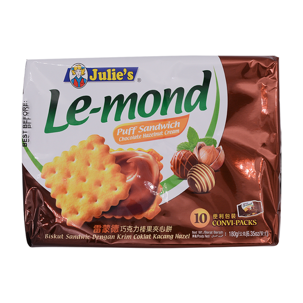 Julies Lemond Choc Hazelnut 180g - Longdan Offical Online Store - UK Cash & Carry