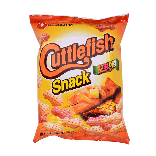 Nong Shim Cuttle Fish Snack 55g - Longdan Offical Online Store - UK Cash & Carry
