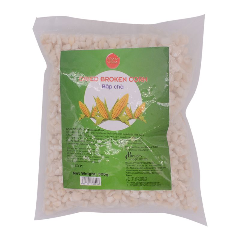 Dried Broken Corn 300g - Longdan Offical Online Store - UK Cash & Carry