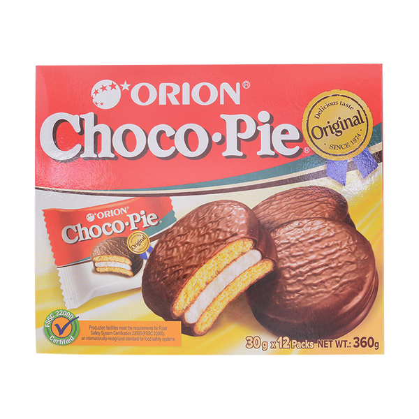 Orion Choco Pie 360g - Longdan Offical Online Store - UK Cash & Carry