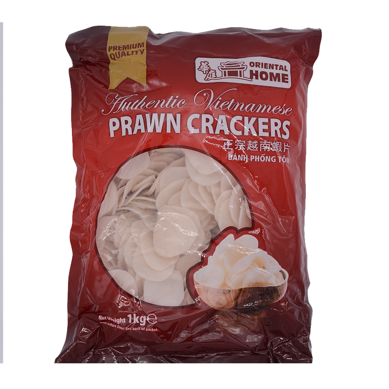Oriental Home Vietnamese Praw Crackers 1kg - Longdan Offical Online Store - UK Cash & Carry