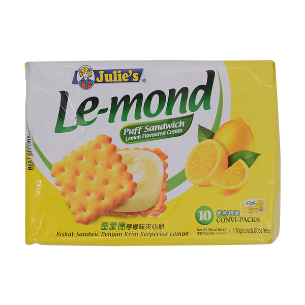 Julies Le-Mond Puff Lemond 170g - Longdan Offical Online Store - UK Cash & Carry