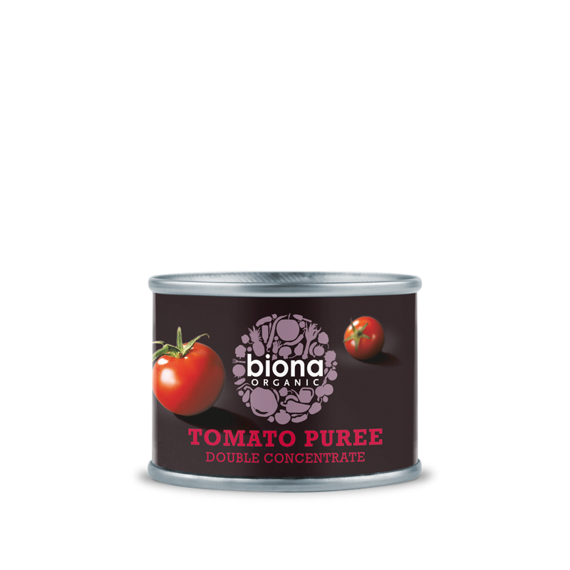 BIONA Organic Tomato Puree Double Concentrate 70g - Longdan Online Supermarket