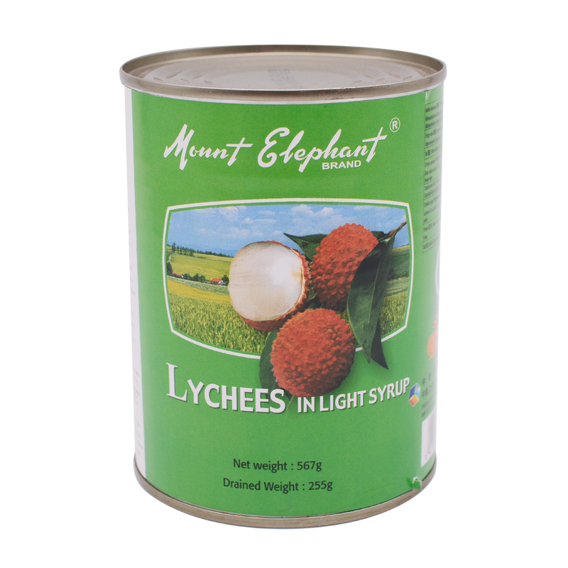 Mount Elephant Lychees In Syrup 567g - Longdan Online Supermarket