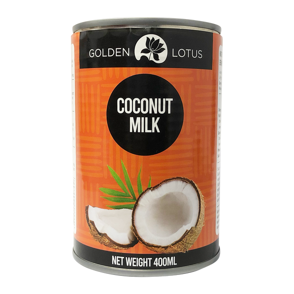Golden Lotus Coconut Milk 400ml (17-19%) - Longdan Online Supermarket