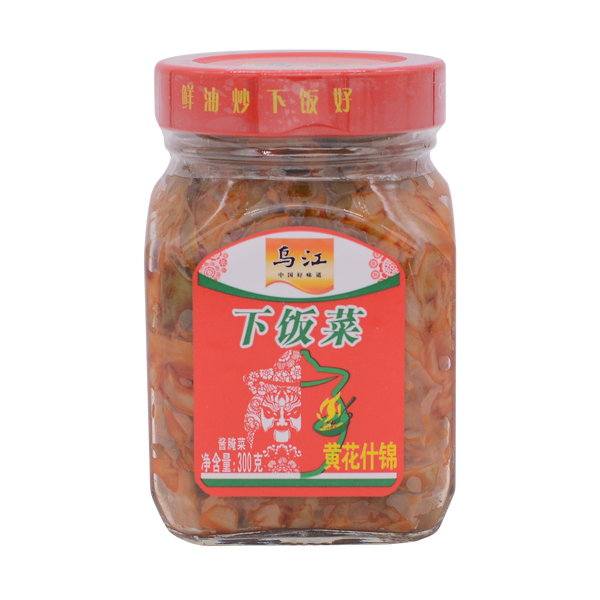 WuJiang Assorted Pickles with Day-Lily 300g - Longdan Offical Online Store - UK Cash & Carry