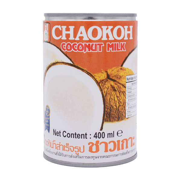 Chaokoh Coconut Milk 400ml - Longdan Online Supermarket