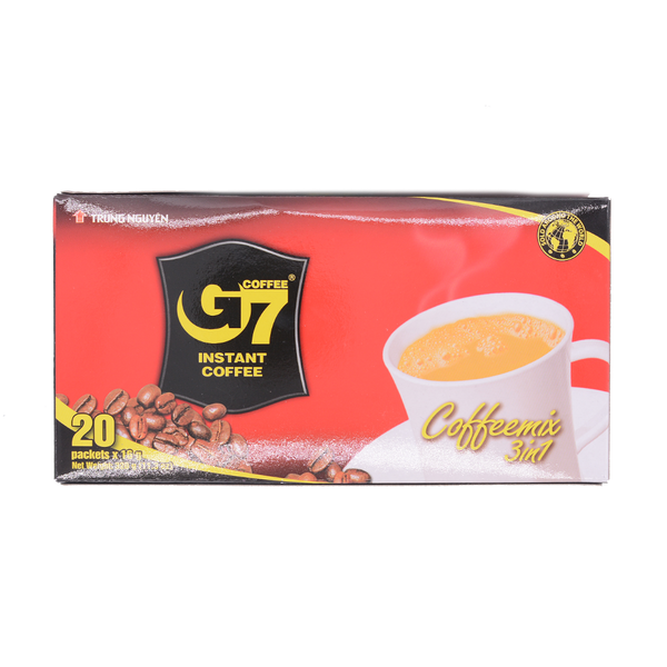 Trung Nguyen G7 Coffee 3 in 1 320g - Longdan Offical Online Store - UK Cash & Carry
