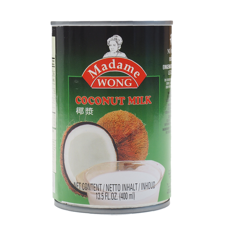 Madame Wong Coconut Milk 400Ml - Longdan Online Supermarket