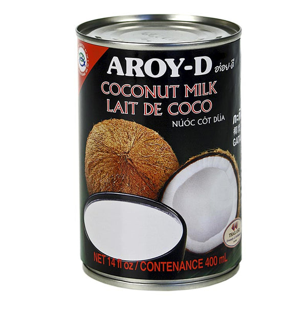 Aroy-d Coconut Milk Can 400ml - Longdan Online Supermarket