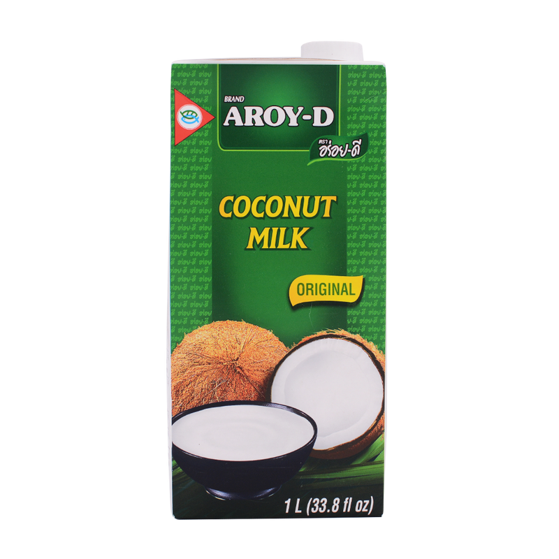 Aroy-D Coconut Milk 1L - Longdan Offical Online Store - UK Cash & Carry