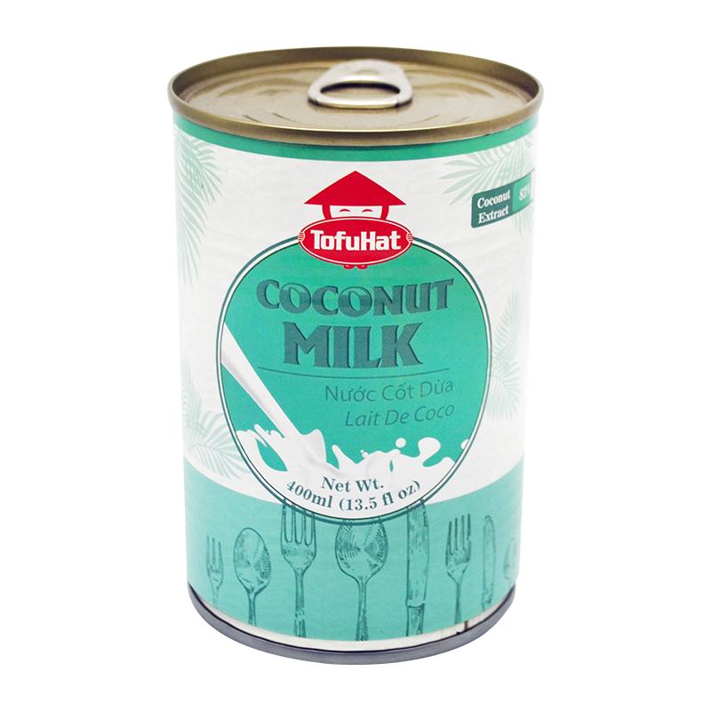 Tofuhat Coconut Milk 400Ml - Longdan Offical Online Store - UK Cash & Carry