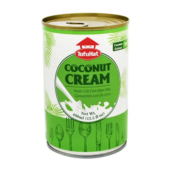 Tofuhat Coconut Cream 400Ml - Longdan Offical Online Store - UK Cash & Carry